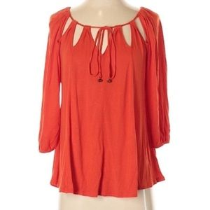 Anthro l Vanessa Virginia String Symmetry Top